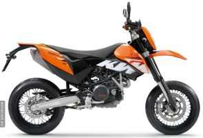 Мотоцикл KTM 2008 модельного года