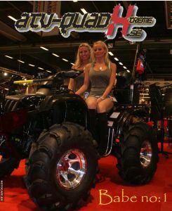 Шведский тюнинг квадроцикла CF-Moto ATV 500