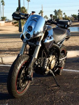 Турбированный Ducati HyperMotard HYPERKЯOMO