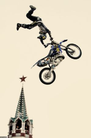 Red Bull X-Fighters 2010, Москва. (Ш)КВАЛификация…