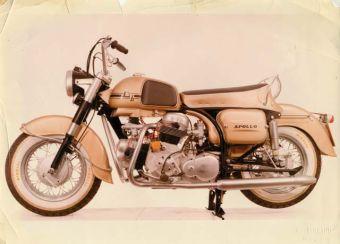Мотоцикл Ducati Apollo