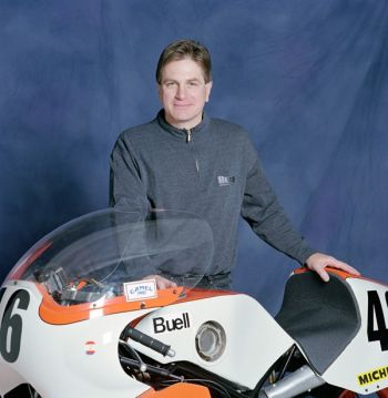 Erik Buell и его мотоцикл RW750