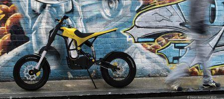 02 Pursuit – действительно воздушный мотоцикл