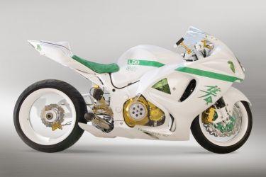Прозрачные колеса от Custom Sportbike Concepts