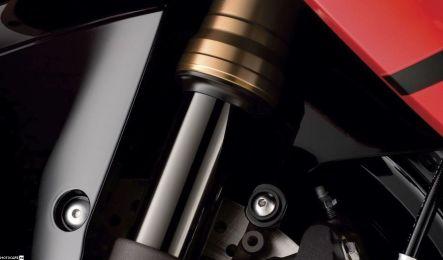 Устройство передней подвески и рулевого управления мотоцикла