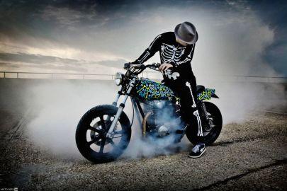 стрит-трекер Yamaha Boner Brigade