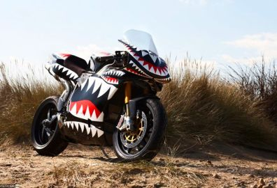 Ducati 1026 Bite Flying Tigers edition