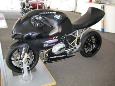 Тюнинг   мотоцикла BMW от Jamaican Motosports