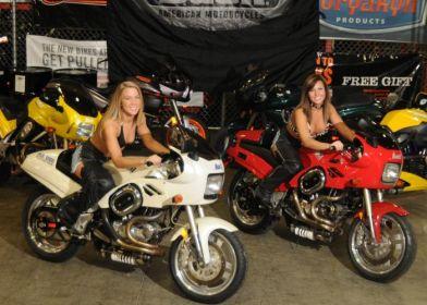 Buell RS1200 и девушки