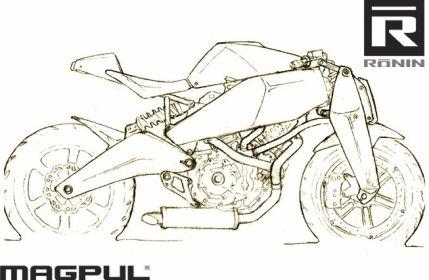 Magpul Ronin - спешиал-нейкед на базе Buell 1125R