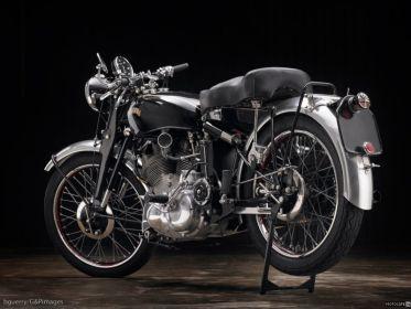Реставрация мотоцикла Vincent Rapide