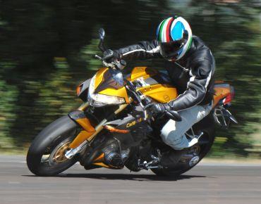Benelli TNT1130 Cafe Racer. Типичный