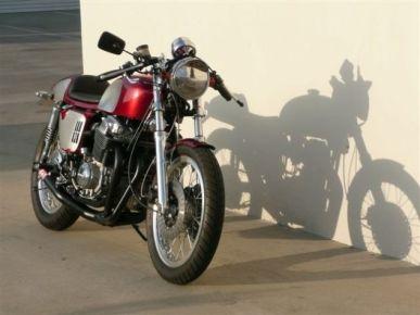 Modern Honda CB750 Cafe Racer