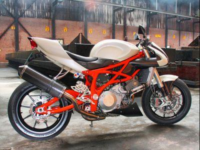Кастом байк Suzuki Nelis 1000R
