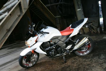 Kawasaki Z1000. Видение уличного бойца от Kawaski - отточенный стиль и сочные средние обороты