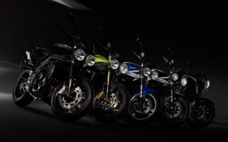 Эволюция серии Speed Triple