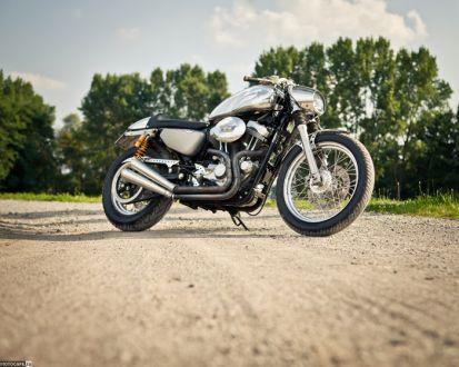 Café Racer Kit для владельцев H-D Sportster от DK Motorrad