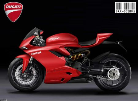 Luca Bar 2012 Ducati Superbike 1199