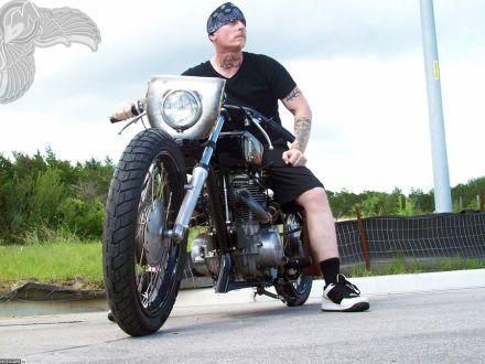 FREEDOM OR DEATH MACHINE. Метрический чоппер из Yamaha XS650