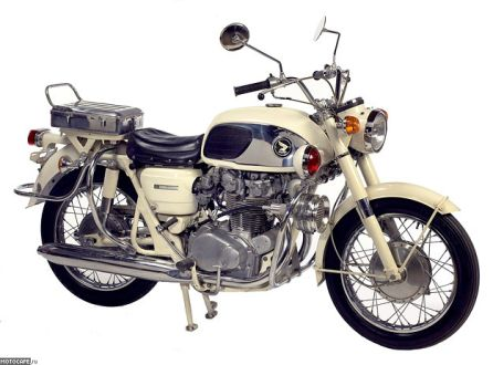 1965 Honda CB450 Police Special