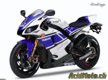 Зарисовка Yamaha R1 2012