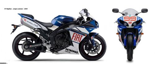 Гоночная реплика Yamaha YZF-R1 Jorge Lorenzo