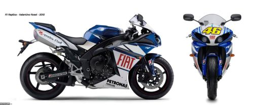 Гоночная реплика Yamaha YZF-R1 Valentino Rossi