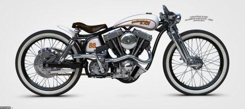 Кастом-проект Harley-Davidson Deer Hunter