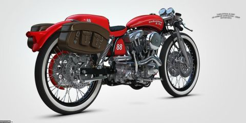 Кастом-проект Harley-Davidson Pony Express