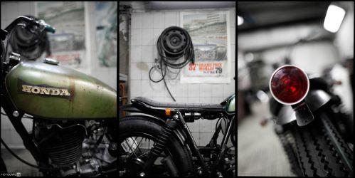 «Полиморф» по-французски – кастом Honda Tank, который совсем не Honda