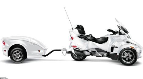 2011 Can-Am Spyder RT Limited, а также тележка в придачу