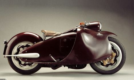 Moto Arte Design: Major 350 1948