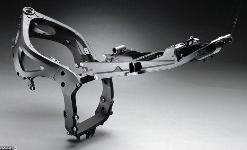 Устройство мотоциклетных рам