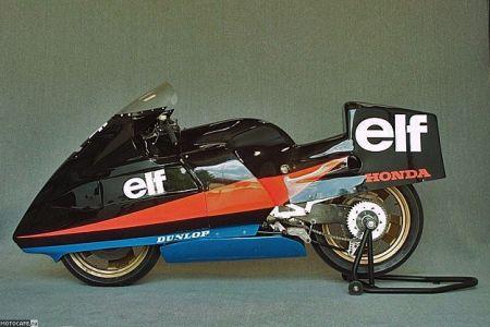 Специально для ELF R 1986 была разработана рама из магниевого сплава