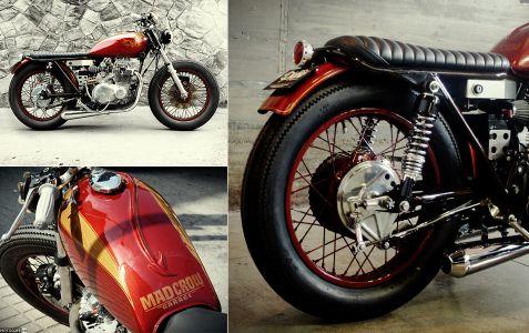 El Diablo Kawasaki KZ400 – картинка из журнала
