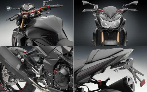 Rizoma представила стайлинг-кит для нового Kawasaki Z750R