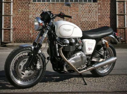 Тюнинг мотоцикла Triumph Bonnevile