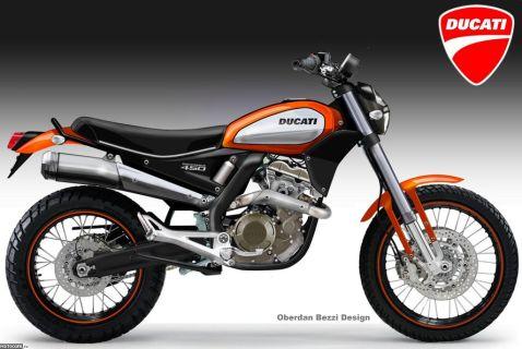 Oberdan Bezzi: Ducati Desmoscrambler 450
