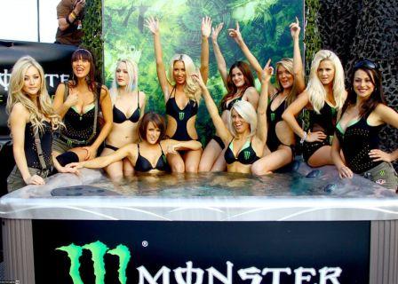 Девушки Monster Energy освежают французский этап MotoGP
