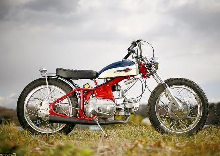 1964 Harley-Davidson Sprint – флэт-трекер с «четвертушкой»