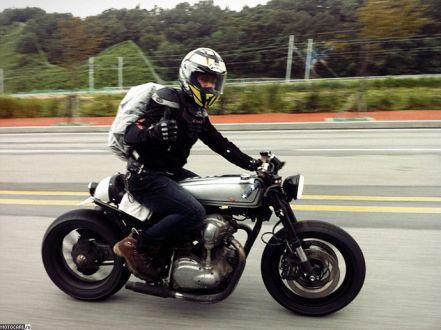 2001 Kawasaki W650 в кастоме Tangara