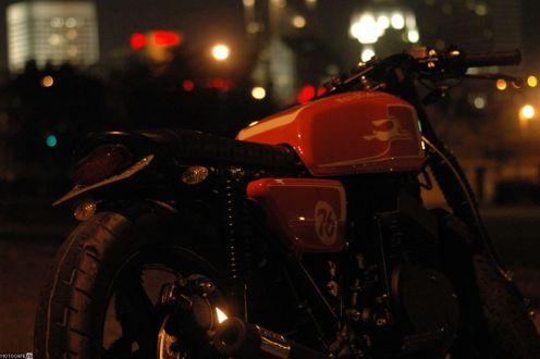 Кастом Motofiaccone RD400 Cafe Racer