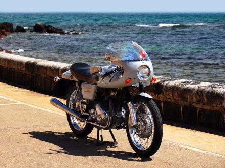 1970 Norton Commando Fastback, живущий в теплой Австралии