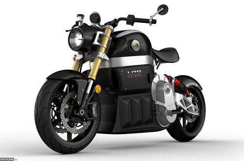 Концепт электрического мотоцикла Lito Sora