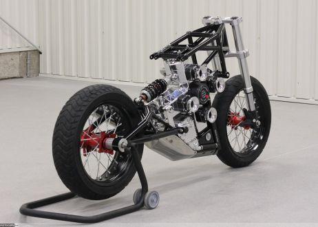 JJ2S X4 500cc - Мотоцикл из Польши