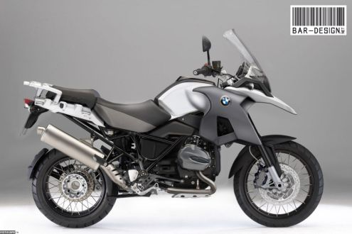 2012 BMW R1200GS - Luca Bar