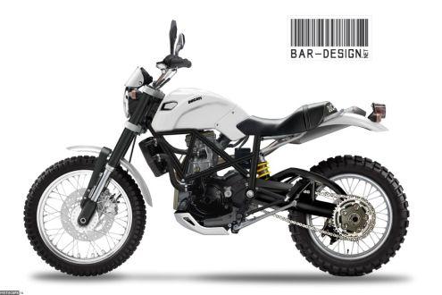 2012 Ducati Scrambler - Luca Bar