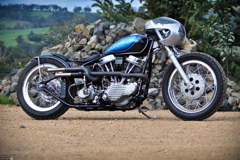 Harley-Davidson Panhead – шестидесятилетний микс