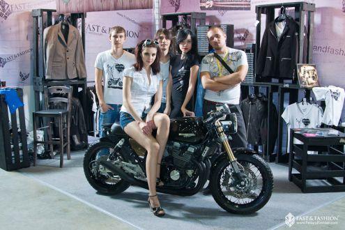 Каферейсер Motocafe и Fast&Fashion из Yamaha XJR 400