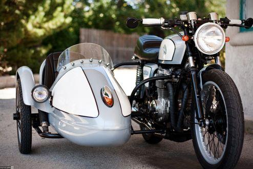 1978 Honda CB550K с коляской